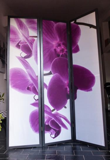 """Paravent  """"Orchidée"""""""