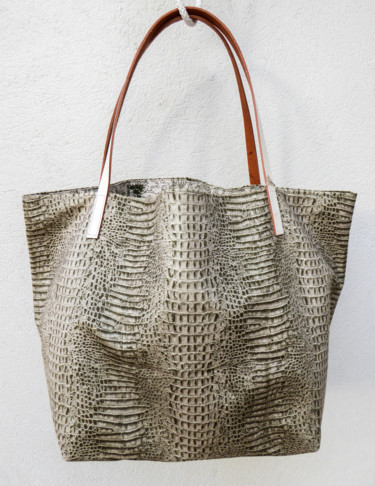 "Sac shopping  ""Alligator & jungle"""